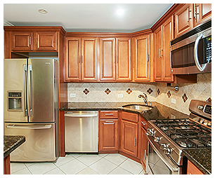 Staged Residential Kitchen